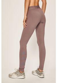 Fioletowe legginsy adidas Performance