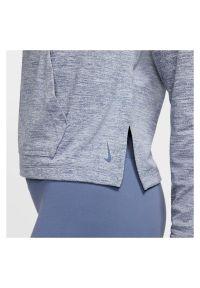 Bluza damska Nike Yoga CQ8833. Typ kołnierza: kaptur. Materiał: materiał, poliester. Technologia: Dri-Fit (Nike). Sport: fitness, joga i pilates