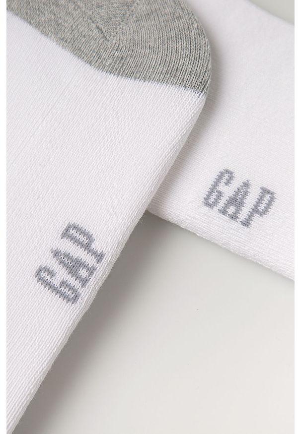 Białe skarpetki GAP