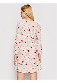 Samsoe & Samsoe - Samsøe Samsøe Sukienka codzienna Britt S Wrap F21100201 Różowy Regular Fit. Okazja: na co dzień. Kolor: różowy. Typ sukienki: proste. Styl: casual