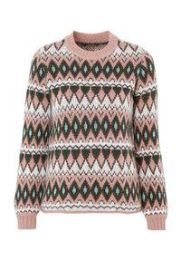 Sweter Cellbes elegancki, do pracy, z długim rękawem