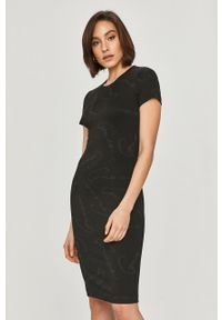 Czarna sukienka Guess mini, dopasowana