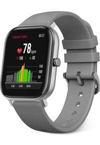 AMAZFIT - Smartwatch Amazfit GTS Szary (A1914GREY). Rodzaj zegarka: smartwatch. Kolor: szary