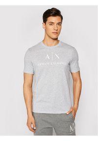 Armani Exchange T-Shirt 8NZTCJ Z8H4Z 3929 Szary Slim Fit. Kolor: szary