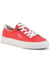 Czerwone trampki Pepe Jeans