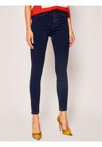 Niebieskie jeansy slim Desigual