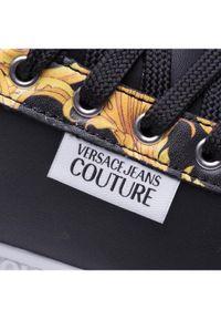 Versace Jeans Couture Sneakersy E0VWASP1 Czarny. Kolor: czarny