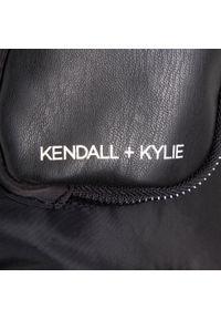 Kendall + Kylie - Torebka KENDALL + KYLIE - HBKK-121-0003-26 Black. Kolor: czarny. Materiał: skórzane. Styl: klasyczny. Rodzaj torebki: na ramię