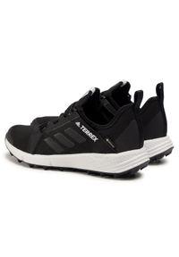 Czarne buty do biegania Adidas z cholewką, Adidas Terrex, Gore-Tex