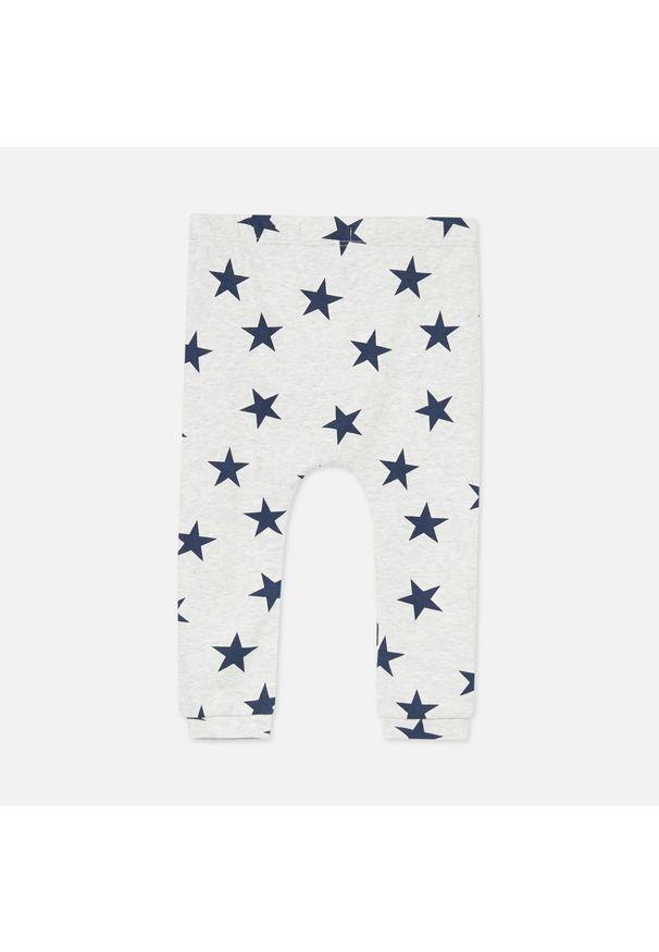 Szare spodnie Sinsay