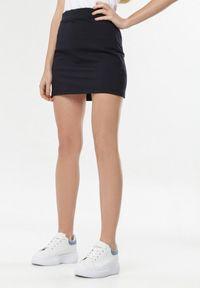 Niebieska spódnica mini Born2be