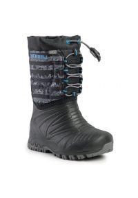 Czarne śniegowce Merrell na spacer
