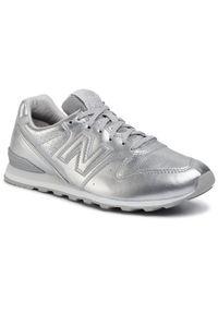 Srebrne buty sportowe New Balance New Balance 996
