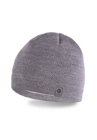 Szara czapka zimowa PaMaMi