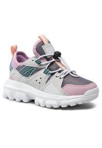 CATerpillar - Sneakersy CATERPILLAR - Raider CK164848 Lilac. Okazja: na co dzień. Kolor: różowy. Materiał: skóra, materiał. Szerokość cholewki: normalna. Styl: casual
