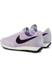 Fioletowe półbuty Nike na co dzień, casualowe, z cholewką