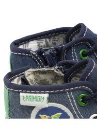 Primigi - Trampki PRIMIGI - 1445800 Blue. Okazja: na uczelnię, na spacer. Kolor: niebieski. Materiał: materiał. Szerokość cholewki: normalna