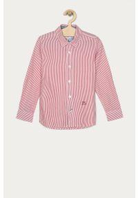 Czerwona koszula Pepe Jeans casualowa, na co dzień, długa