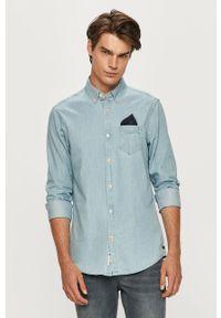 Niebieska koszula Scotch & Soda casualowa, długa