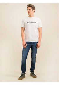 columbia - Columbia T-Shirt Csc Basic Logo 1680053 Biały Regular Fit. Kolor: biały