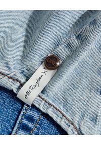 ONETEASPOON - Jeansowa koszula damska. Okazja: na co dzień. Kolor: niebieski. Materiał: jeans. Długość rękawa: długi rękaw. Długość: długie. Styl: casual
