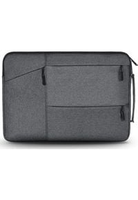 "TECH-PROTECT - Etui Tech-Protect Pocket Laptop 16"" Ciemnoszary. Kolor: szary"