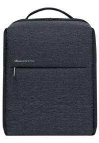 Xiaomi City Backpack 2(26399) dark gray. Materiał: materiał. Wzór: paski. Styl: elegancki