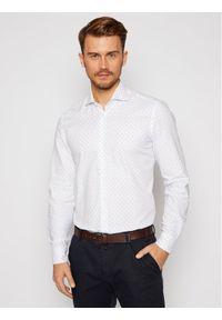 Baldessarini Koszula Henry 10007/000/1003 Biały Regular Fit. Kolor: biały