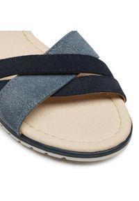 Niebieskie sandały Panto Fino