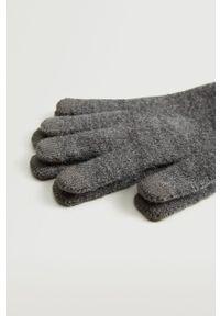 Mango Man - Rękawiczki Touch. Kolor: szary