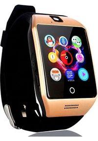 Złoty zegarek NoName smartwatch