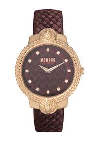 Brązowy zegarek Versus Versace