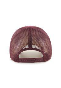 Fioletowa czapka z daszkiem 47 Brand z aplikacjami