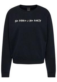 Czarna bluza Pinko
