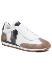 Białe sneakersy Fabi z cholewką