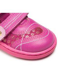 RenBut - Trzewiki RENBUT - 13-040 Amarant. Kolor: różowy. Materiał: skóra, zamsz. Szerokość cholewki: normalna