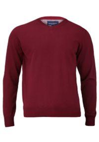 Czerwony sweter Adriano Guinari na spotkanie biznesowe, klasyczny