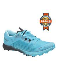 EVADICT - Buty do biegania w terenie męskie Evadict Race Light Trail. Kolor: turkusowy, niebieski, wielokolorowy