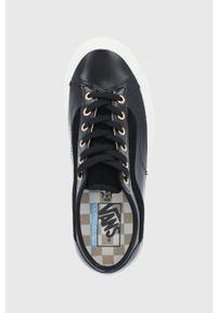 Vans - Tenisówki. Nosek buta: okrągły. Zapięcie: sznurówki. Kolor: czarny. Materiał: guma