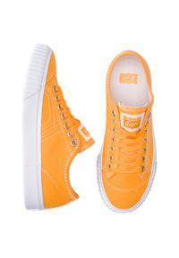 Pomarańczowe buty sportowe Onitsuka Tiger z cholewką, do koszykówki