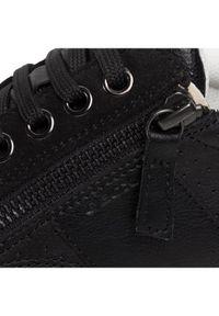 Geox Sneakersy D Leelu' E D94FFE 08522 C9999 Czarny. Kolor: czarny