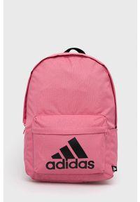 Adidas - adidas - Plecak. Kolor: różowy. Materiał: poliester