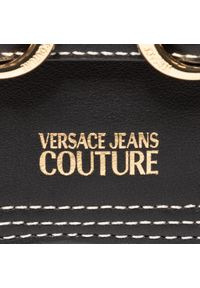Versace Jeans Couture - Torebka VERSACE JEANS COUTURE - E1VZBBN2 71734 899. Kolor: czarny. Materiał: skórzane