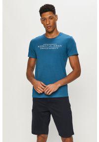Henderson - Piżama. Kolor: niebieski. Materiał: dzianina