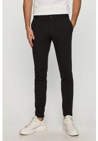 Only & Sons - Spodnie. Kolor: czarny. Materiał: tkanina