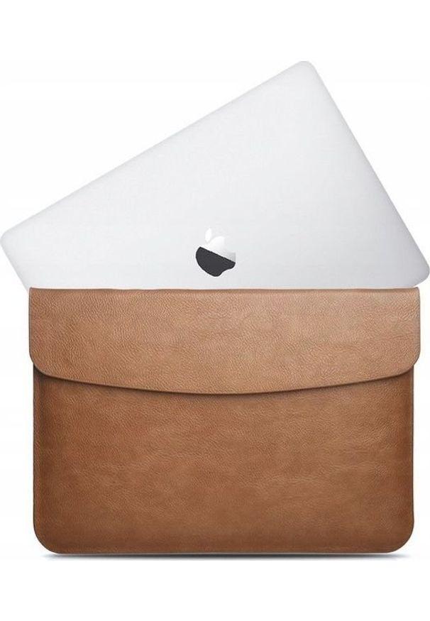 "Etui Pan i Pani Gadżet Skórzane MacBook Pro Air 13 13"" Brązowy. Kolor: brązowy. Materiał: skóra"