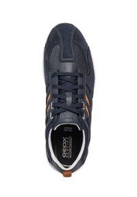 Geox - Buty. Nosek buta: okrągły. Zapięcie: sznurówki. Kolor: niebieski. Materiał: włókno, materiał