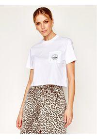 Biały t-shirt Volcom