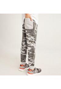 Szare spodnie Reserved moro