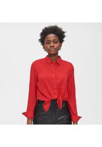Czerwona koszula Cropp klasyczna